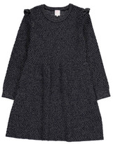 Little Karl Marc John Rialty Ruffled Sleeve Dress