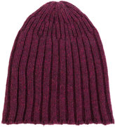 Roberto Collina ribbed beanie hat