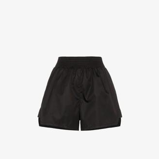 Prada smocked waist shorts