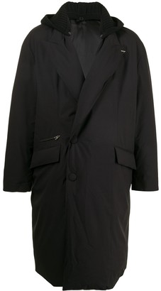 SONGZIO Padded Double-Breasted Coat