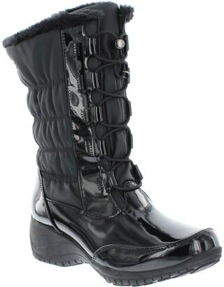 Khombu Waterproof Faux Fur Zip Cold-Rated Boots- Amelia