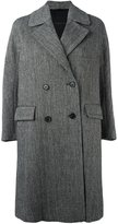 Ermanno Scervino double-breasted mid-length coat