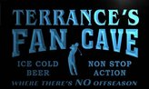 AdvPro Name tf294-b Terrance's Golf Fan Cave Man Room Bar Beer Neon Light Sign