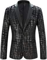 Cloudstyle Men's luxury Casual Stylish Dress Suit Slim Fit Blazer Coats Jackets