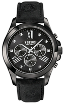Versus By Versace Chronograph Lion Black Dial Watch, 44mm