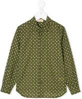Amelia Milano polka dot shirt