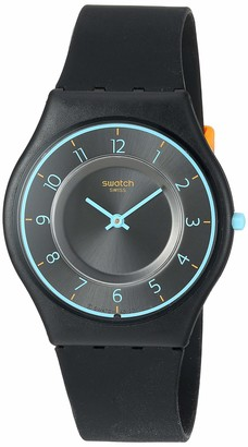 Swatch Time Quartz Silicone Strap
