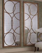 "John-Richard Collection Lattice"" Mirrored Wall Decor"