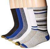 Gold Toe Men's Fashion Sport Crew Sock 6-Pack