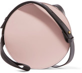 Marni Tambourine Color-block Leather Shoulder Bag - Pastel pink