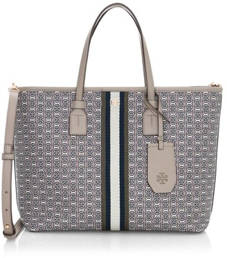 Tory Burch Small Gemini Link Canvas Tote