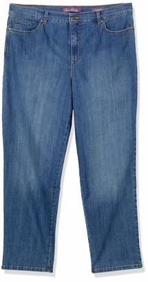 Gloria Vanderbilt Women's Plus Size Amanda-Classic Straight Leg Jean