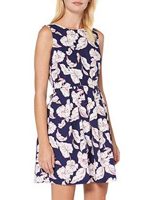 Koton Women's Fitted Dress With Floral Pattern Party Dress,8 (Size: )