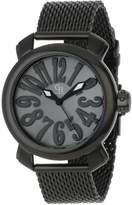Mother of Pearl Giulio Romano Women's GR-7000-13-007 Rimini Black Dial Black Ion-Plated Watch
