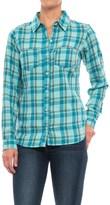 Columbia Holston Ridge Flannel Shirt - Long Sleeve (For Women)