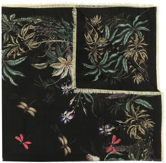Givenchy Nature Print Scarf