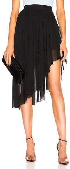 Thierry Mugler Asymmetric Hem Skirt