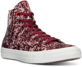 Converse Men's Chuck Taylor All Star II High Top Translucent Rubber Casual Sneakers from Finish Line