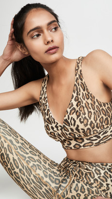 YEAR OF OURS Leopard Print Victoria Bra
