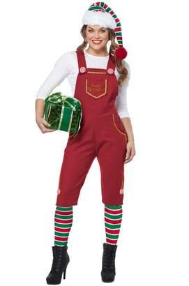 California Costumes Women's Santa's Workshop Elf-Adult Costume