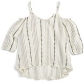 Tucker + Tate Girl's Cold Shoulder Top
