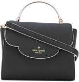 Kate Spade logo stamp tote - women - Leather - One Size
