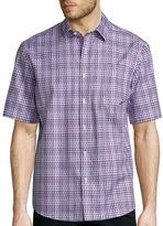 Claiborne Short-Sleeve Woven Shirt