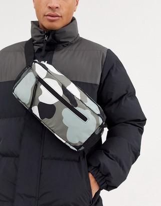 Asos 4505 4505 ski bum bag in camo print-Multi