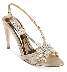Badgley Mischka Women's Jacqueline Ii Embellished Strappy High-Heel Sandals
