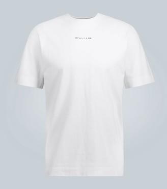 Alyx Graphic type cotton T-shirt