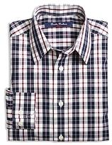 Brooks Brothers Boys' Double Plaid Shirt - Big Kid