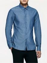 Calvin Klein Platinum Chambray Shirt