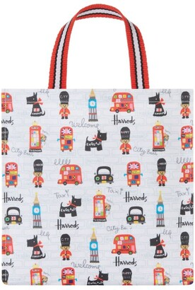 Harrods City Bear Small Shopper Bag