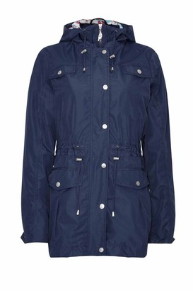 Champion Ladies Country Estate Jura Waterproof Lightweight Lined Parka Jacket - Navy - 10