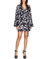 Cynthia Rowley Swirl Kimono Wrap Dress
