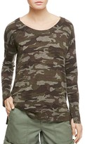 Sanctuary Renee Camo Print Tee
