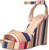 Kate Spade Women's Dellie Wedge Sandal,10 M US