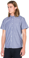 Saturdays Nyc Esquina Oxford S/S Button Down
