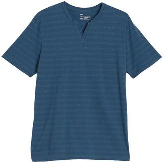 Public Opinion Short Sleeve Notch Neck T-Shirt