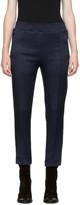 Haider Ackermann Indigo Elastic Waistband Lounge Pants