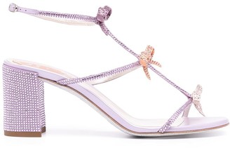 Rene Caovilla Caterina crystal-embellished strappy sandals