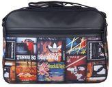 adidas New Mens Black Airliner Polyester Shoulder Bag Messenger Bags