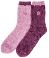 2-Pairs Womens Noble Mount Soft Anti-Skid Winter Feather Socks