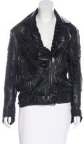 Acne Studios Mason Leather Jacket