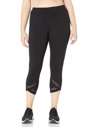 Calvin Klein Women's Plus Size High Waist Crop Legging