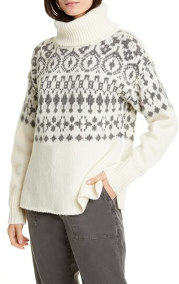 NSF Cher Nordic Turtleneck Sweater