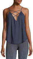 Vimmia Trellis Lace-Front Camisole Tank