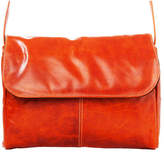David King Women's 3522 Florentine Flap Front Handbag