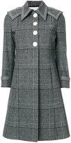 Marco De Vincenzo principe de galles coat - women - Cotton/Viscose/Virgin Wool - 44