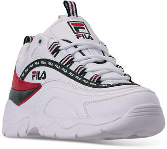 Fila Women Ray Casual Athletic Sneakers from Finish Line